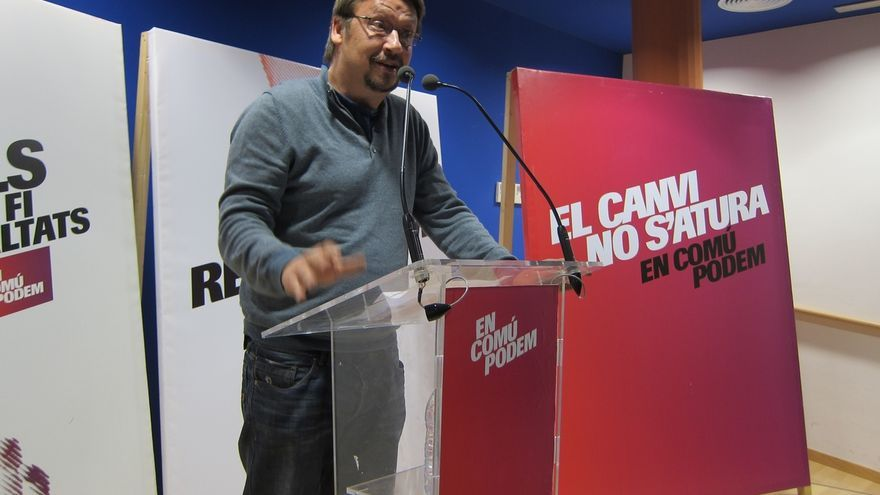 Domènech promete que EnComúPodem no tendrá con Podemos la relación PSC-PSOE