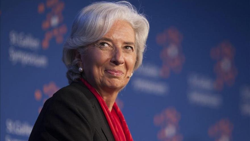 Lagarde defiende retirar las medidas proteccionistas para fomentar el crecimiento