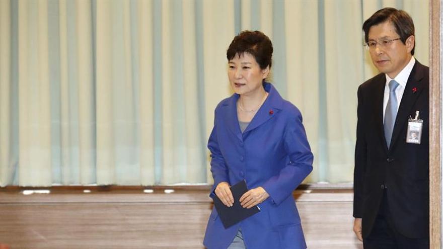 Citan a declarar a la expresidenta surcoreana Park el 21 de marzo