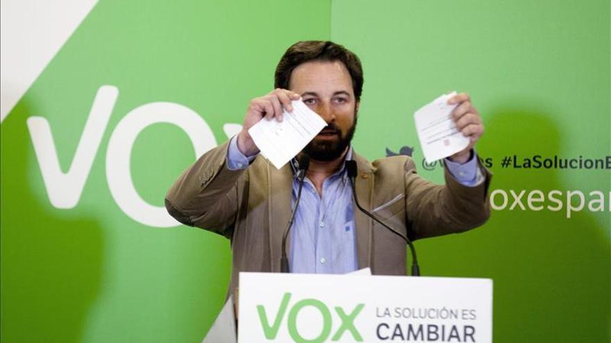 Vox presenta hoy querella contra Rajoy por dejación de funciones en Cataluña