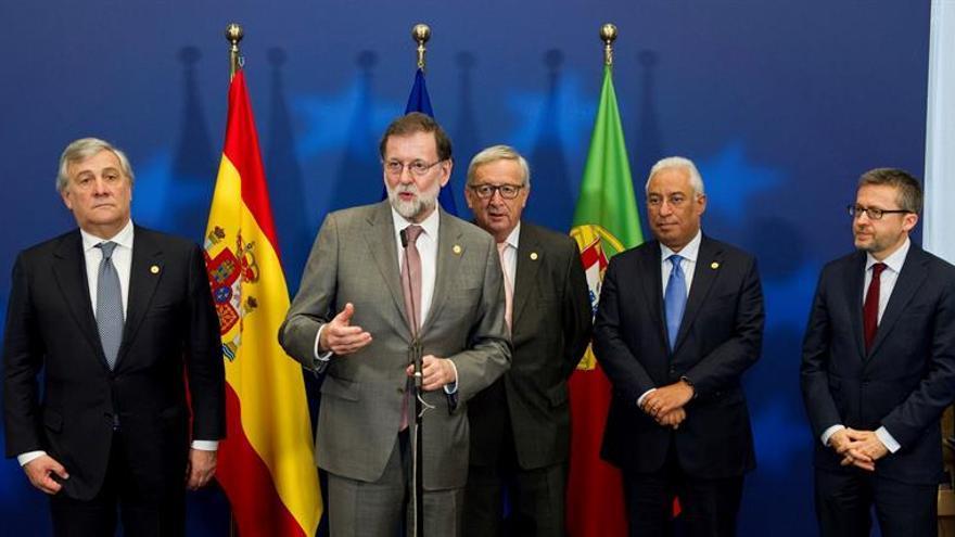 Rajoy y Costa agradecen la solidaridad de la UE por la donación a las víctimas de los incendios