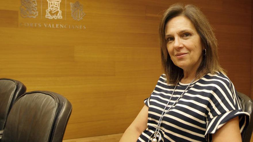 La socialista Carmen Martínez.