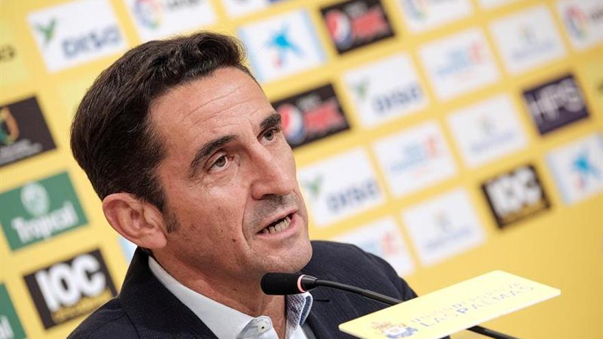 """Jiménez: """"Debemos aceptar dónde estamos, Las Palmas será un equipo a batir"""""""