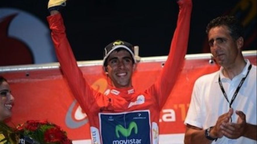 El ciclista español Jonathan Castroviejo, primer líder de la Vuelta Ciclista. (Europa Press)