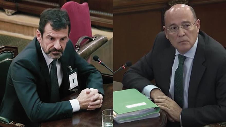 López y Pérez de los Cobos, en sus testificales en el Supremo