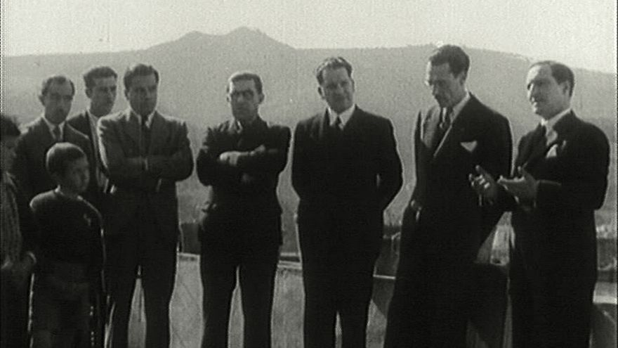 Fotograma del documental 'El Gobierno vasco en el exilio'.