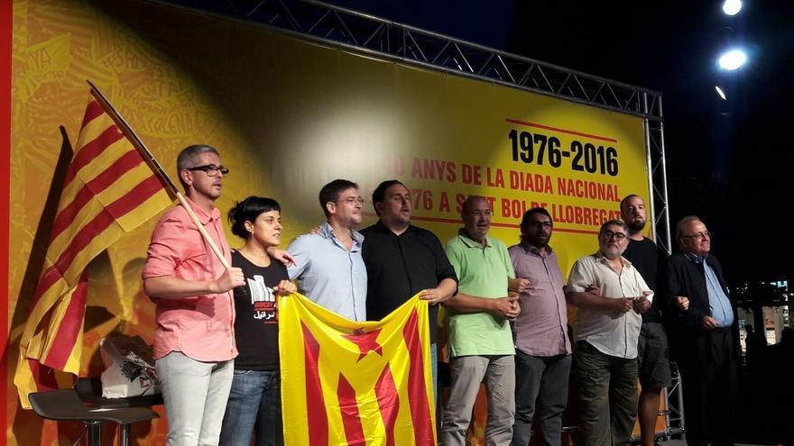 ERC, CUP y Podem reflejan sus diferencias sobre el derecho a decidir