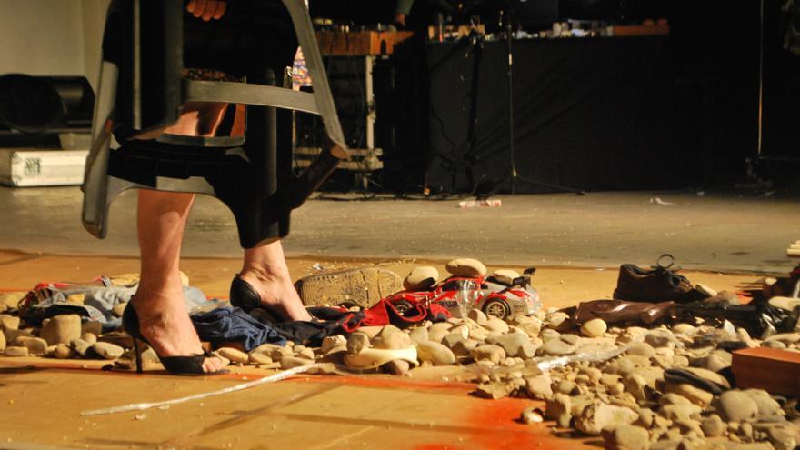 `Ejercicios prosapoéticos de nuestra prostitución española´ de Dif Vall Producciones rurales en la ciudad en el Festival DeCorrido