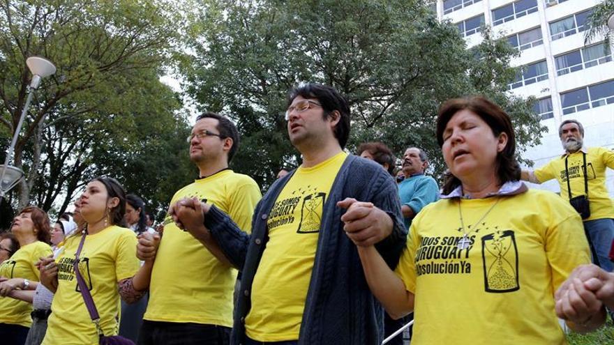 Centenar de policías desplegados ante la sentencia sobre la masacre en Paraguay
