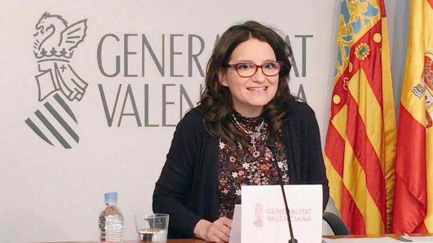 La vicepresidenta valenciana, Mónica Oltra