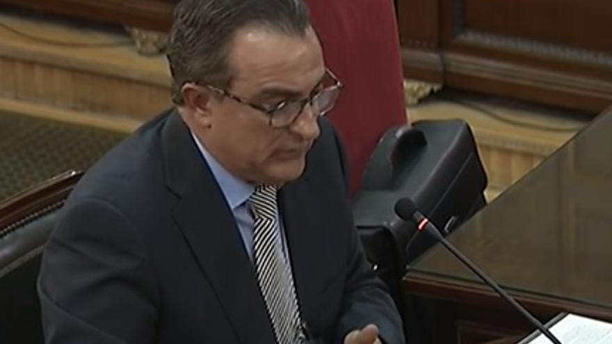 El comisario general de Información de los Mossos el 1-O, Manel Castellví