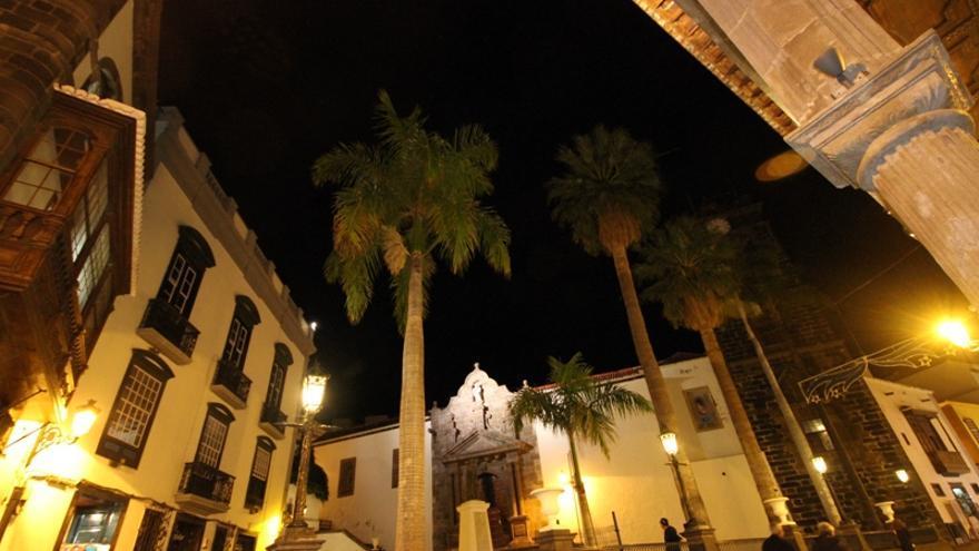 Imagen de archivo de la Plaza de España de Santa Cruz de La Palma.