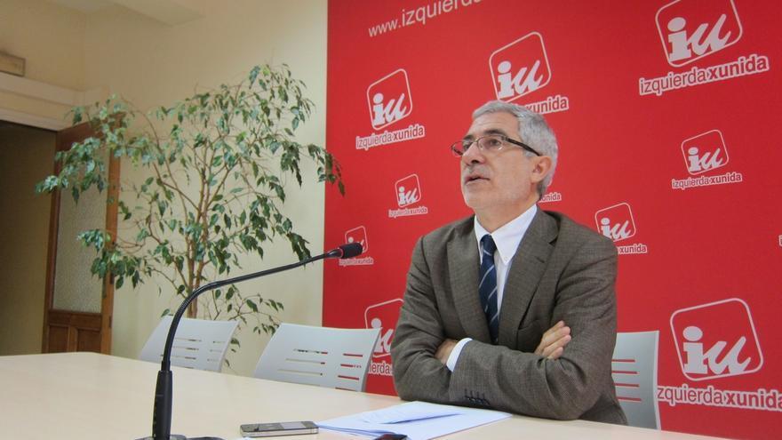 Llamazares dispuesto a liderar la lista autonómica de IU en Asturias, si es de consenso