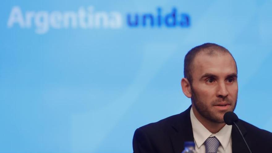 En la imagen, el ministro de Economía de Argentina Martín Guzmán.