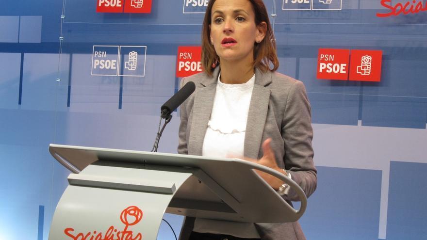 Chivite afirma que el PSN se reunió con Sánchez la semana pasada porque quieren que se convoque el congreso del PSOE