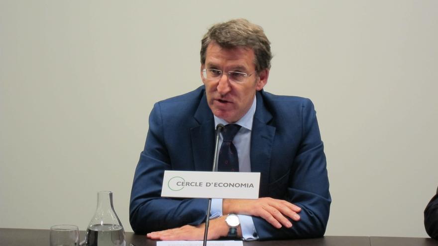 """Feijóo (PP) afirma que la dimisión de Currás como concejal de Santiago """"es una buena decisión"""""""