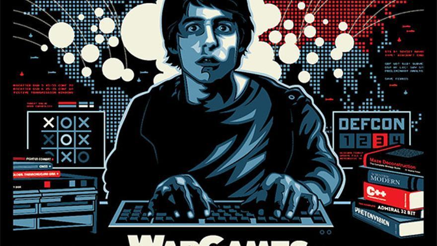 Cartel de la película 'Juegos de guerra' (1983)