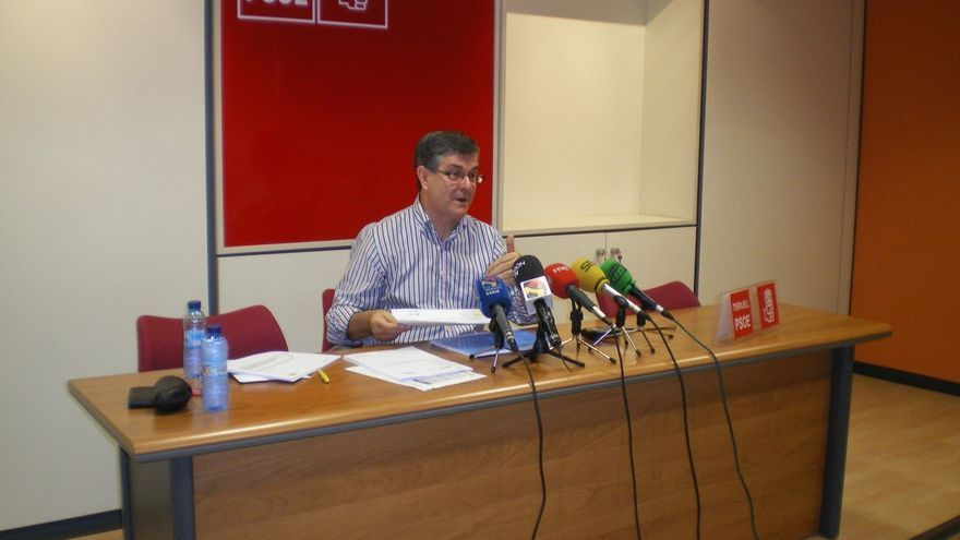 """Guillén (PSOE) defiende que su partido encabeza la lucha contra la corrupción """"frente a la apatía de Rajoy"""""""