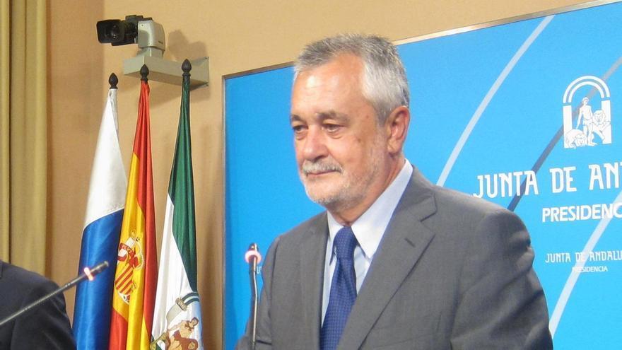 Griñán rechaza que se hayan eliminado párrafos del informe de la Cámara de Cuentas sobre ERE, que no está concluido