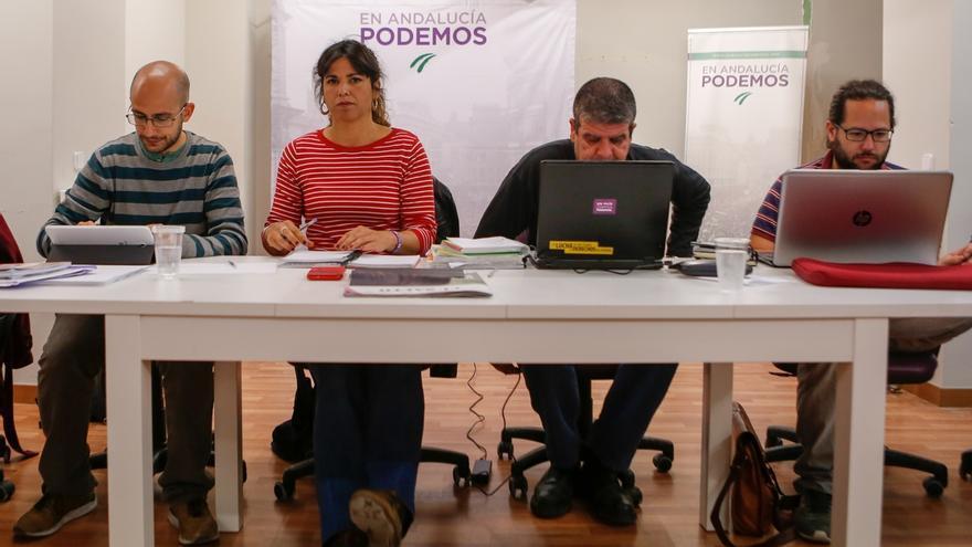 "Teresa Rodríguez aboga por que Podemos ofrezca ""alternativas de gobierno"" en Andalucía a ""reivindicaciones de la calle"""