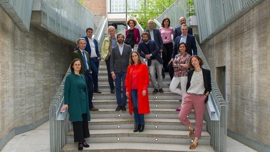 Los miembros del Colegio de Arquitectos de Madrid.