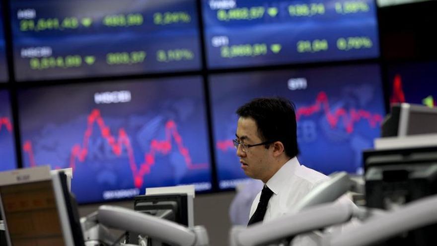 Apertura mixta de la Bolsa de Seúl
