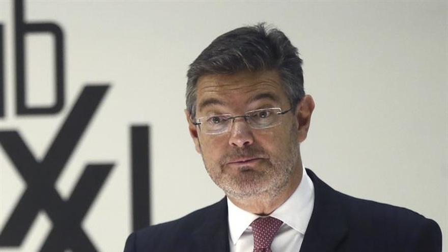 Catalá insiste:Es hora de reformar la Justicia, pendiente desde la Transición