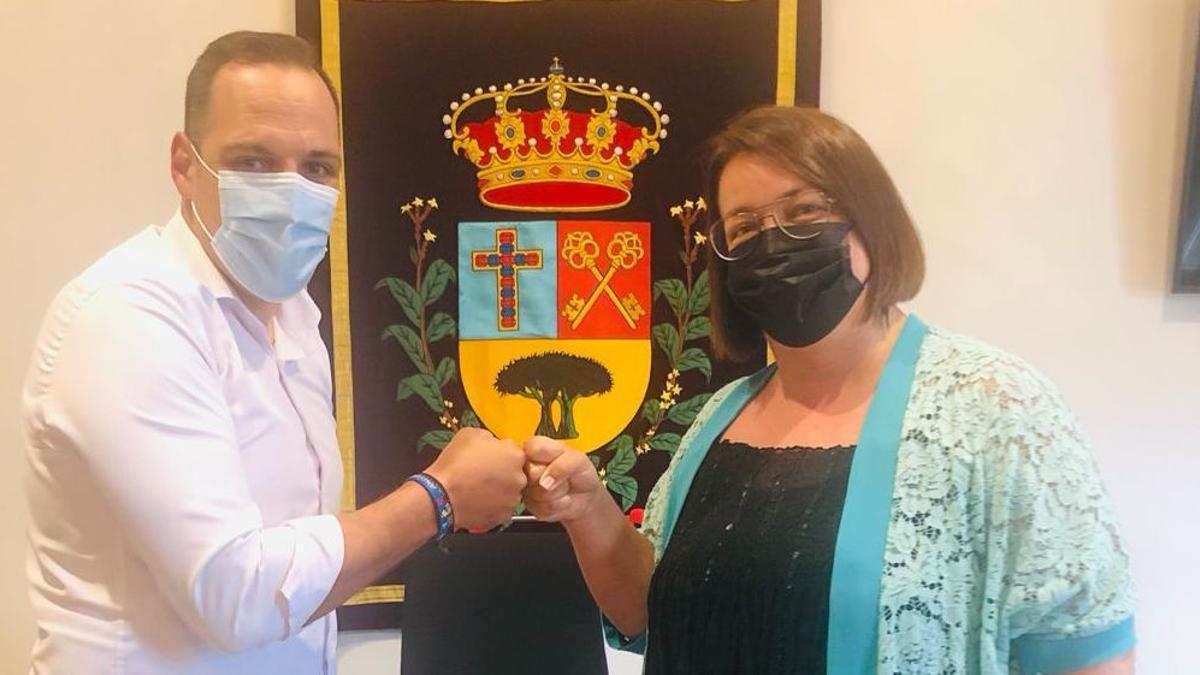 Jonathan Felipe y Maite Rodríguez.
