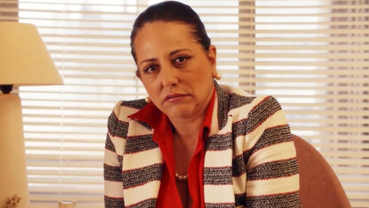 Yolanda Ramos como Noemí Argüelles en una escena inédita de 'Paquita Salas'