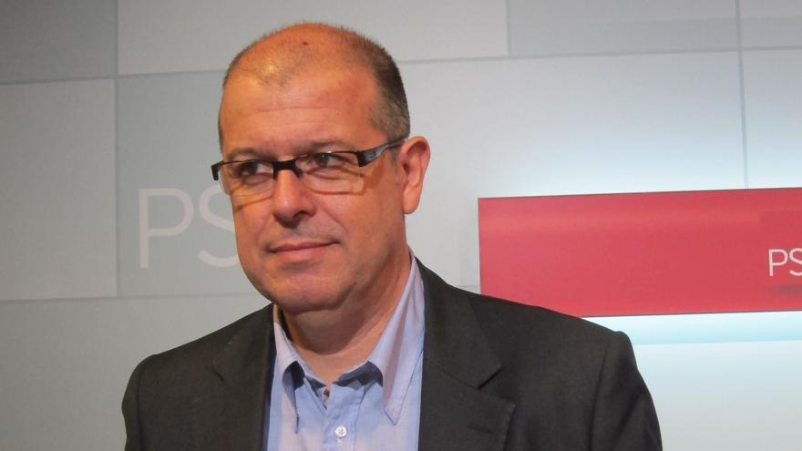 El PSC apostará otra vez por José Zaragoza para el puesto que el PSOE le reserva en la dirección del Grupo Socialista