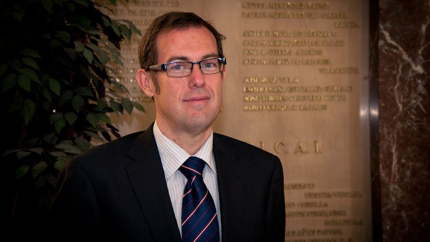 Ransés Pérez Boga, presidente de la Organización Profesional de Inspectores de Hacienda