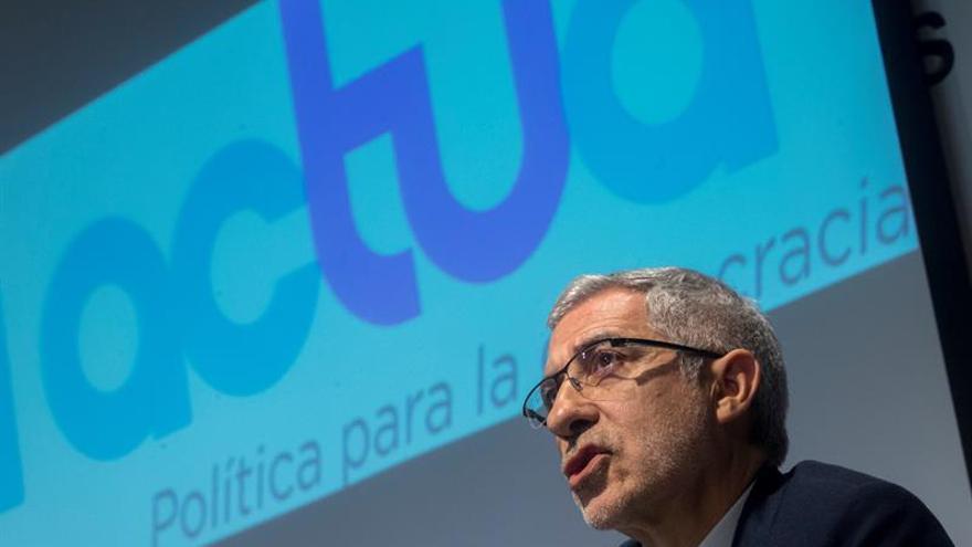 Actúa pide intervenir en los debates que se televisen si participa Vox