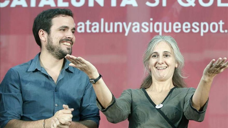 Garzón no estará en el cierre de las catalanas, pese a su intensa campaña