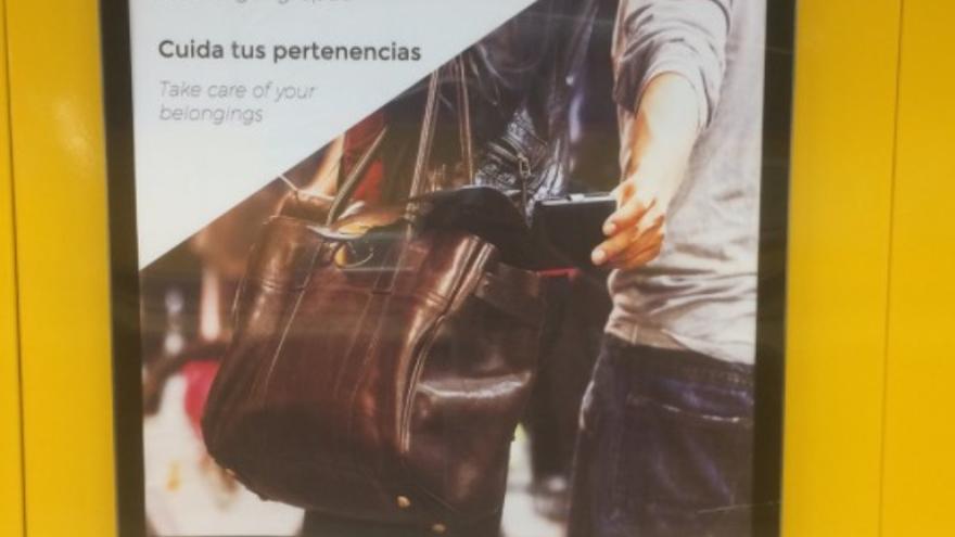 La campaña de Metro de Madrid.