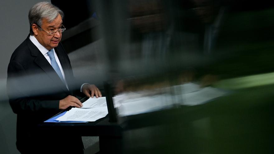 La ayuda transfronteriza en el noroeste de Siria es vital, según el jefe de la ONU
