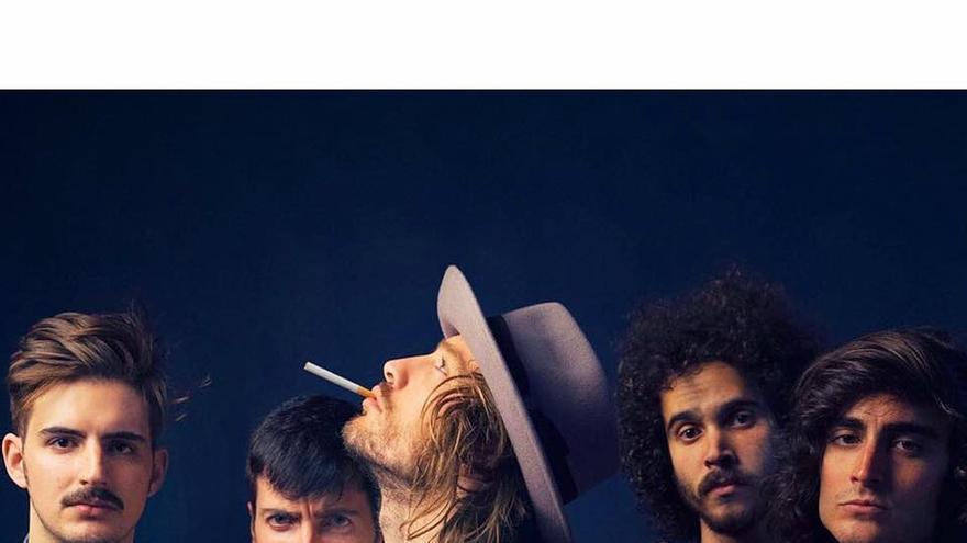Imagen promocional del grupo asturiano Marlon.