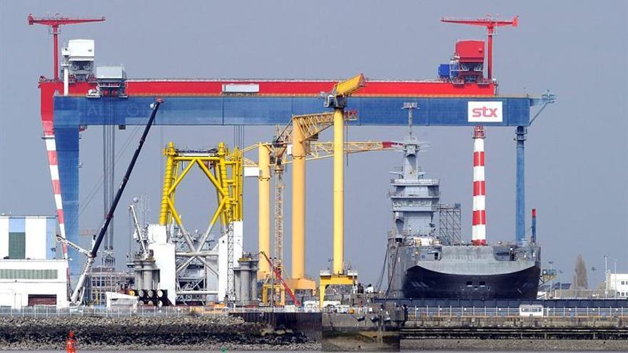 Francia nacionaliza el astillero STX tras fracasar la negociación con Italia