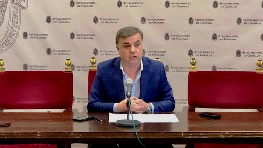 El concejal de Recursos Humanos, Francisco Fuentes, prefiere guardar silencio