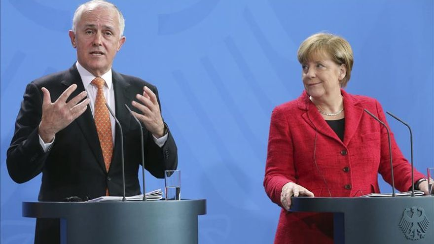 """Merkel ve el diálogo sobre Siria como """"un pequeño paso"""" en la buena dirección"""