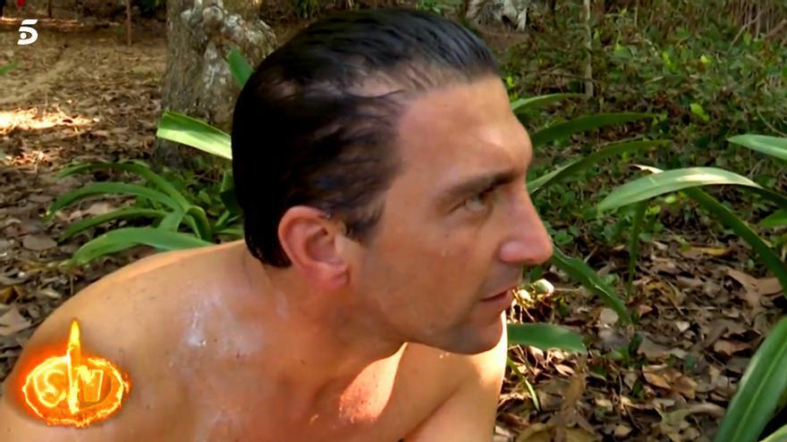 Antonio Pavón, en la isla de Supervivientes