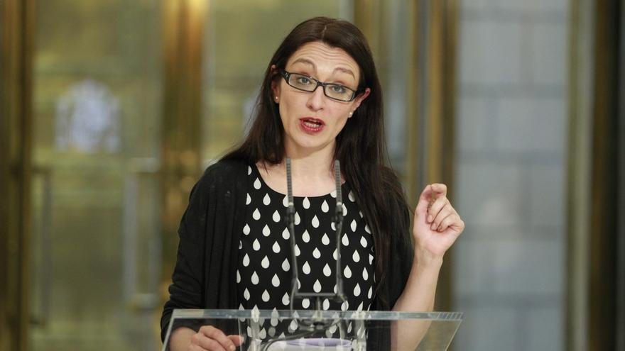 La única diputada de IU el 20D, Sol Sánchez, no logra renovar el escaño en la confluencia con Podemos