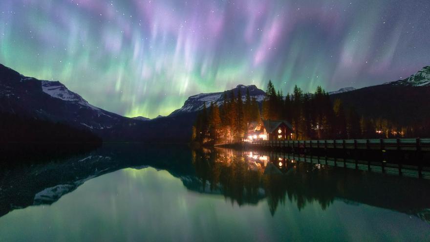 Las 'luces del norte' en toda su intensidad. Capture the Atlas