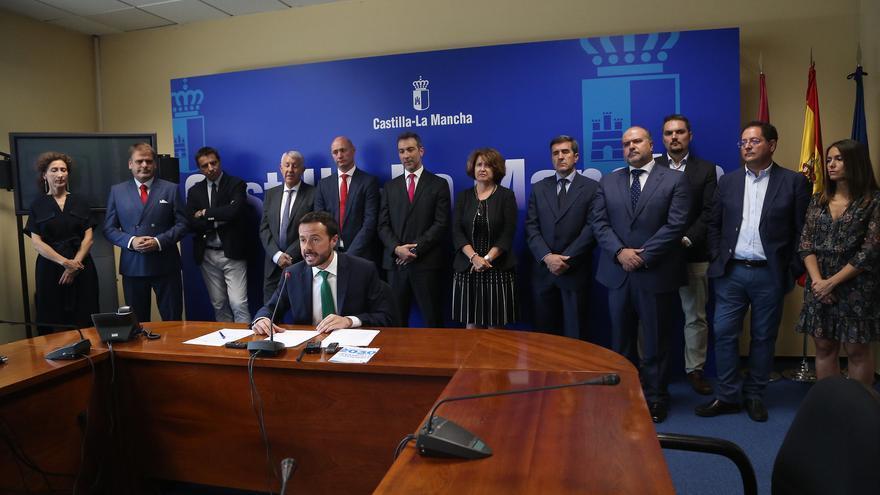 Equipo de la Consejería de Desarrollo Sostenible de Castilla-La Mancha
