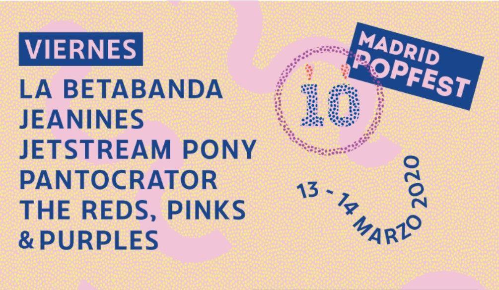 Madrid Pop Fest 2020 – CANCELADO