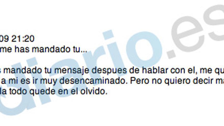 """El hijo de Aznar a Blesa: """"Espero que todo quede en el olvido"""""""