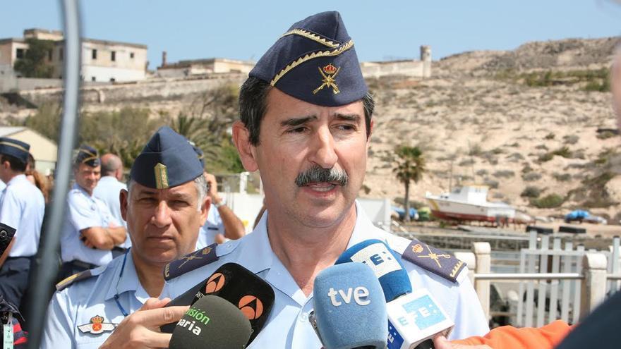 General Francisco Javier Fernández Sánchez, segundo jefe del Mando Aéreo de Canarias.(ALEJANDRO RAMOS)