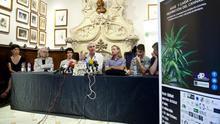 Presentación del estudio 'Auge y caída de la prohibición del cannabis'. /ENRIC CATALÀ