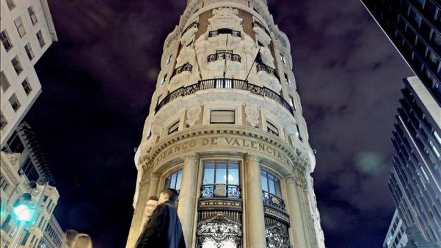 El edificio del Banco de Valencia
