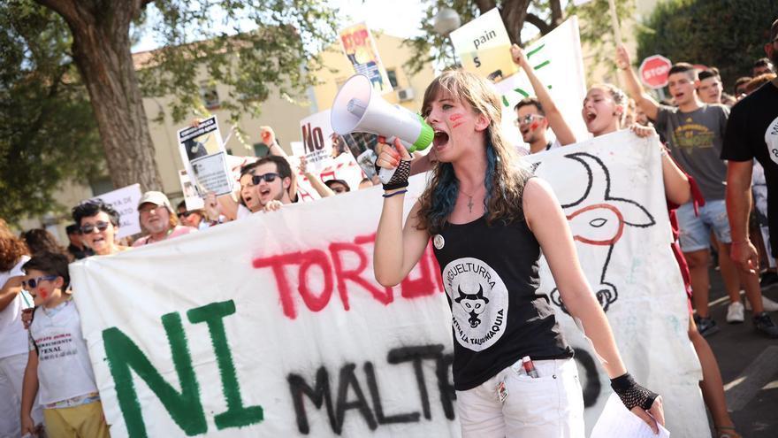 Concentración antitaurina Ciudad Real
