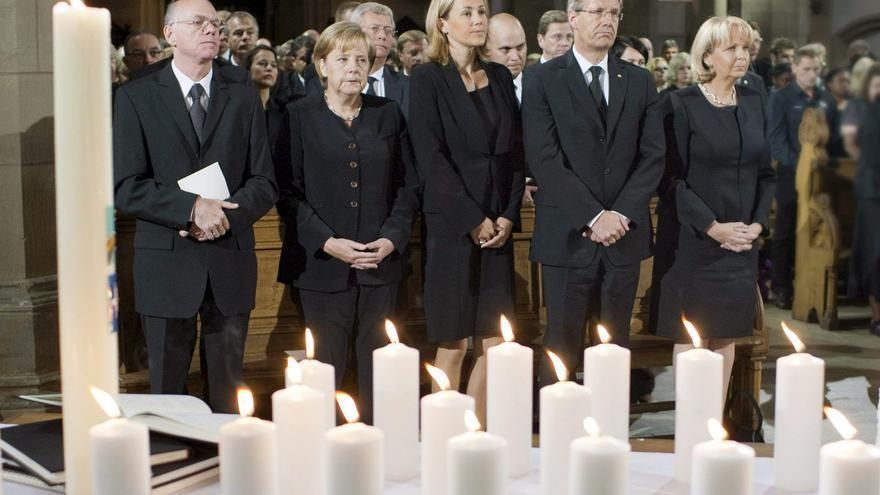 """Funeral multiconfesional en honor a las víctimas de """"Loveparade"""""""